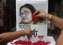 Pétales de rose, en hommage à Sushmita Banerjee