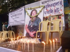 A memorial service in Kolkata. Sandip roy/Firstpost