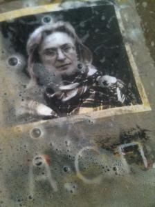Portrait d'Anna Politkovskaïa. © À mains nues