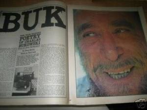 Bukowski in the Raw: The Dirtiest Old Man in L.A., Rolling Stone, 1976