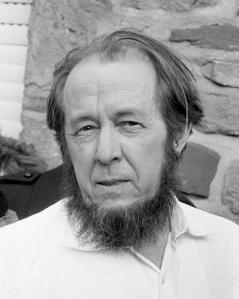 Alexandre Soljenitsyne en 1974