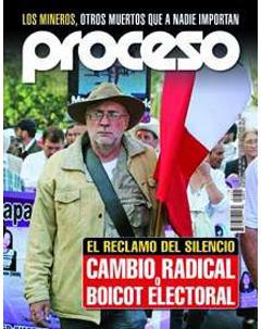 Javier Sicilia en couverture de Proceso, mai 2011