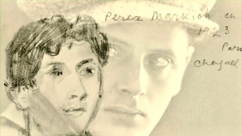Peretz Markish par Marc Chagall