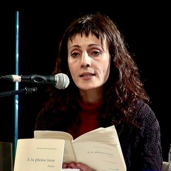 Fadwa Souleimane au Marché de la poésie de Bordeaux, le 15 mars 2015