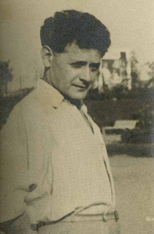 Peretz Markish à Moscou, en 1945