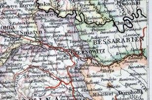 Czernowitz, à la frontière de l'ancienne Bessarabie